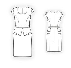 4250 Personalized Dress Pattern PDF sewing pattern by TipTopFit. This lady can provide you with a pattern, instructions and 3D model with your own specific Measurements!!!