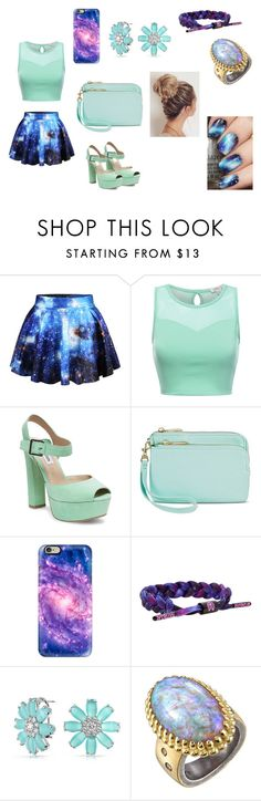 """bn"" by aiste-mini on Polyvore featuring Steve Madden, Merona, Casetify, Rastaclat, Bling Jewelry and Michael Barin"