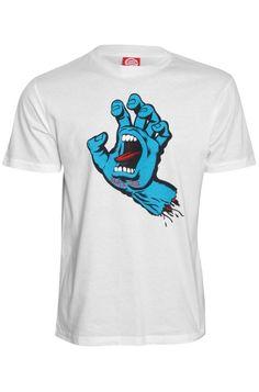 Santa Cruz Screaming Hand Men's T-Shirt, £21.99    http://www.attitudeclothing.co.uk/product_32086-61-2363_Santa-Cruz-Screaming-Hand-Men%27s-T-Shirt.htm