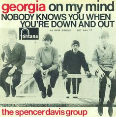 SIXTIES BEAT: The Spencer Davis Group Rock Posters, Concert Posters, The Spencer Davis Group, Steve Winwood, 60s Music, Thing 1, Georgia On My Mind, Blues Rock, Classic Rock
