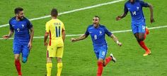 France beat Romania 2-1 tonight in the opening game of #Euro2016