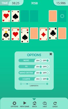 Solitaire Game App Graphic on Behance
