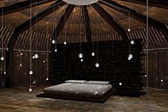 tribal minimal hut