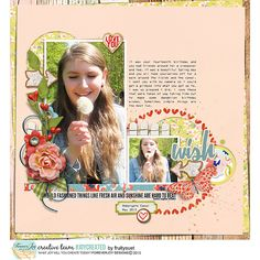 Wish (Chiara 14) Cottage Chic pretties and papers by ForeverJoy Designs Template Happy Life Dressed Up by Fiddle Dee Dee Designs Fonts - Debby (title), DaisyWheel (journaling)