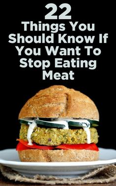 22 Things To Know Before You Decide To Stop Eating Meat - I'm not a vegetarian but there are some really amazing food tips in this page!