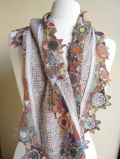 Sophie Digard Linen Scarf | Guinievre by Sophie Digard Scarves