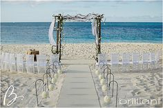 rustic glam beach wedding » Brilliant by Tropical Imaging, Turks and Caicos Photography