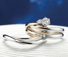 セイレーンアズーロ結婚指輪・婚約指輪