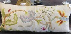 Sale D060815 Lot 688  An embroidered cushion  - Cheffins