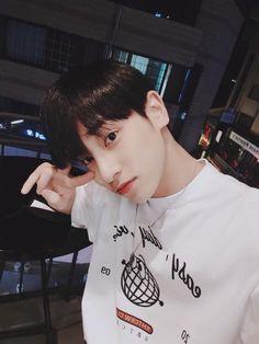 isn't he so cute:( Fandom, Golden Child, Flower Boys, K Idol, Hyungwon, Boyfriend Material, Cute Boys, Boy Bands, Rapper