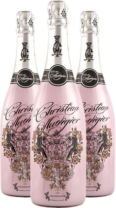 This Christian Audigier Rose Champagne would be a fantastic gift for a friend's engagement! Unusual Engagement Gifts, Rose Champagne, Christian Audigier, Artist Painting, Water Bottle, Bellinis, Packaging, Products, Unusual Engagement Presents