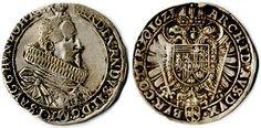 1621, Habsburg, Halbtaler , Ferdinand II. für Tirol, Henkelspur, sonst ss.    Anbieter  Hadersbeck Auktion    Saalauktion  Ausruf:  50.00EUR