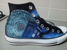 Moar Dr. Who Shoes by ~GamerGirl84244 on deviantART