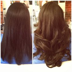 Hair Extensions San Diego by Hair Is Power 619-301-5946 www.hairispower we used 125 pieces of gorgeous Indian hair
