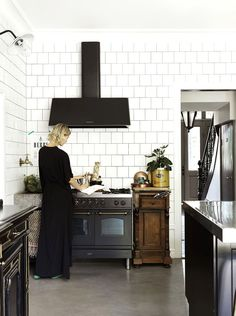 Inside+an+Interior+Designer+and+Model's+Beautiful+Swedish+Home+via+@MyDomaineAU