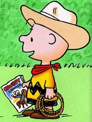 Charlie Brown the Cowboy