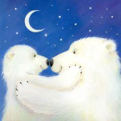 Dufex hoja de calcomanías-pingüinos y los Osos Polares