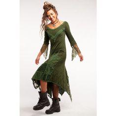 Gypsie Dress Steampunk Dress Fairy Dress Elf Dress Victorian Dress... ($79) ❤ liked on Polyvore featuring dresses, maroon, women's clothing, victorian steampunk dress, stretch lace dress, maroon dress, victorian dresses and gothic lace dress