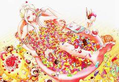 grafika shiro, deadman wonderland, and candy Deadman Wonderland, Shiro, Dbz, Fairy Tail, Sisters Images, Naruto, Anime Group, Art Prints For Home, Image Manga