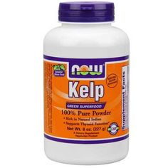 Now Foods Kelp Powder 8 Oz - Anti-aging - Shop by Health Condition - Vitamins, Minerals, Herbs & More