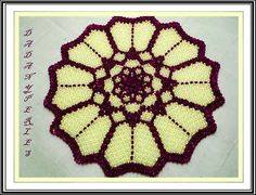 pattern bead weaving doily and candle holder sweet by dadanyperles, $5.75