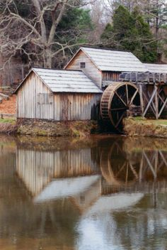 Old Mill In The Blue Ridge Mountains