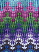 gourd stitch fabric pattern