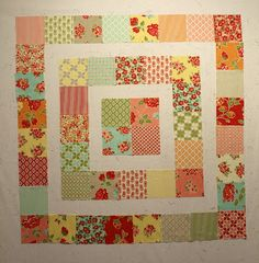 Christmas Quilt with different colors