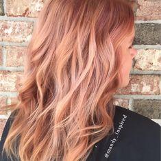 Peach Pearl Color Hair