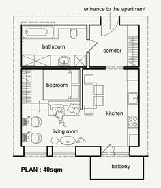 small apartment decorating 845902742479465867 - Petit appartement, belle organisation – PLANETE DECO a homes world Source by Small Apartment Plans, Small Apartment Design, Apartment Floor Plans, Home Map Design, Unique House Design, Interior Design, Apartment Chic, Apartment Layout, Apartment Interior