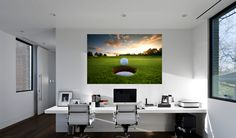 Official Licensed Football & Entertainment Wall Stickers - Golf - The Beautiful Game Football Bedroom, Football Wall, Diy Bedroom, Bedroom Furniture, Office Golf, Entertainment Wall, Sports Wall, Mural Wall Art, Wall Stickers