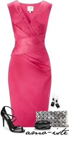 Simply Pink by amo-iste on Polyvore featuring Lipsy