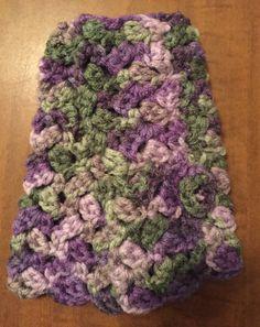 Etsy の Crochet Fingerless Gloves by CrochetingGma