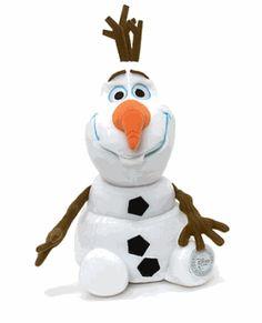 SOLO HOY 5 de diciembre el peluche Olaf de Frozen grande se vende online por 19,90 euros, un 60% de descuento sobre su precio de venta recomendado.