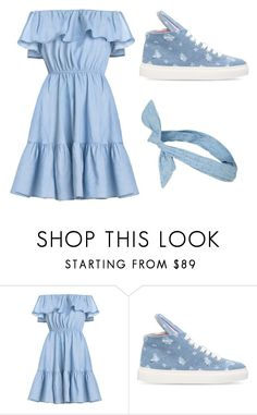 """""""Blue"""" by ludwigh-veneziano on Polyvore featuring Minna Parikka and Topshop"""
