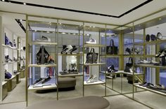 Jimmy Choo Store by Christian Lahoude Studio at Harbour City, Hong Kong » Retail Design Blog