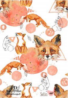 Fox Organic Jersey, White by Selia