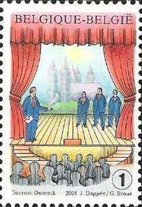 Folklore: 100 y. Cabaret Wallon Tournaisein