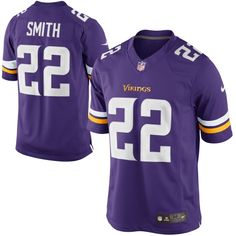Nike Harrison Smith Minnesota Vikings Limited Jersey – Purple