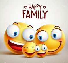 Happy family smiley face vector characters with father, mother and children bonding together while smiling. - Buy this stock vector and explore similar vectors at Adobe Stock Emoticon Feliz, Emoji Feliz, Smiley Faces, Happy Smiley Face, Emoticon Faces, Smiley T Shirt, Smiley Emoji, Clipart Smiley, Naughty Emoji