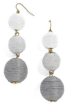 Main Image - BaubleBar Crispin Drop Earrings