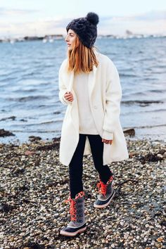 """""""For someone like me who spends a ton of time outdoors, comfortable and functional fashion is super important, so these Joan of Arctic Knit II Waterproof winter boots are a..."""