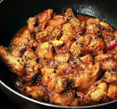 Chinese black pepper chicken recipe - If you have left over rice, this recipe will be perfect. It is a sweet and sour rice recipe with a nice pineapple taste.