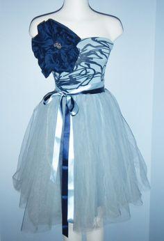 Alice in Wonderland Dress. $160.00, via Etsy.