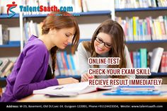 It is online exam preparation site for engineering, medical, management, SSC, TOEFL, GRE, Law, UPSC, IB, IELTS, banking and current affairs for hindi medium students provided by talentsaath.com. It has online tests and questions for exam. To get more details call us on +91124423354