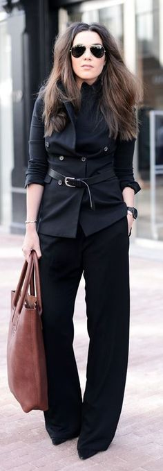 Black And Brown Outfit Idea by Come Over To The Dark Side We Have Candy
