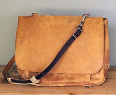 1964 leather mailman bag