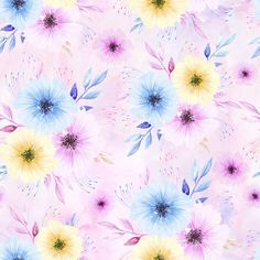 Látka úplet floral pink Textiles, Baby Leggings, Pink Summer, Indiana, Digital Art, Plants, Vintage, Wallpapers, Flowers