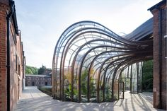 The Bombay Sapphire distillery, designed by the Heatherwick Studio. Their gin was taste tested by the Gardens Illustrated team and scored very highly too