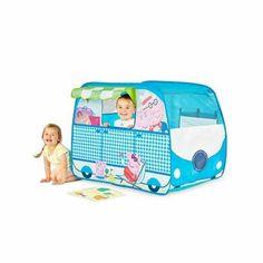 PEPPA PIG Tente de jeu camping-car GetGo. Fille ou Garçon- A partir de 2 ans - Livré à l'unité